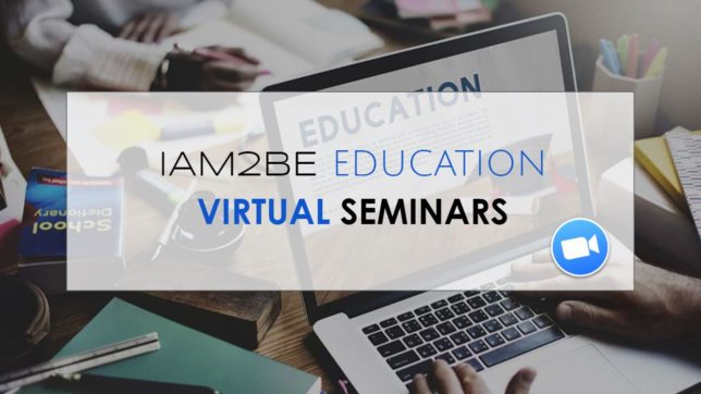 IAM2BE Education Seminars Header